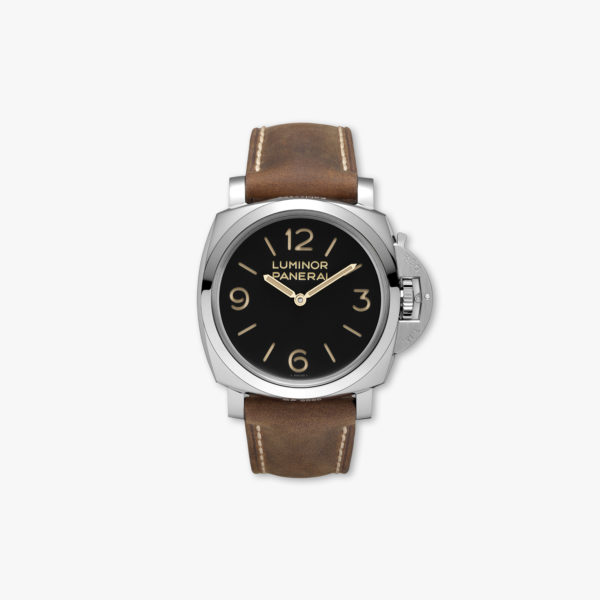 Montre Panerai Luminor 1950 3 Days Acciaio 47Mm Pam00372 Acier Maison De Greef 1848