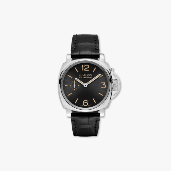 Montre Panerai Luminor Due 3 Days Acciaio 42Mm Pam00676 Acier Noir Maison De Greef 1848