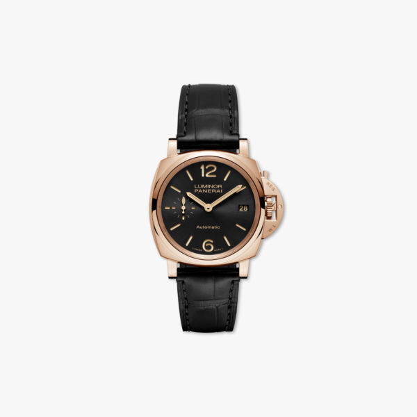 Montre Panerai Luminor Due 3 Days Automatic Oro Rosso 38Mm Pam00908 Or Rose Maison De Greef 1848