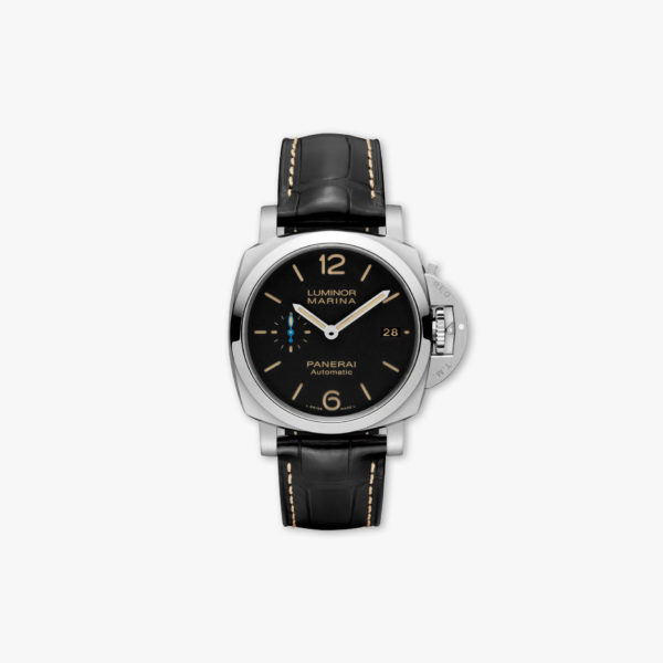 Montre Panerai Luminor Marina 1950 3 Days Automatic 42Mm Pam01392 Acier Noir Bleu Maison De Greef 1848
