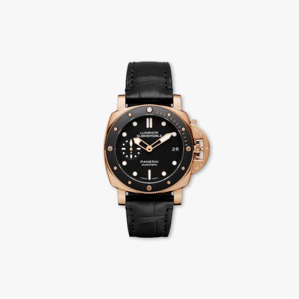 Montre Panerai Luminor Submersible 1950 3 Days Automatic Oro Rosso 42Mm Pam00684 Or Rose Maison De Greef 1848