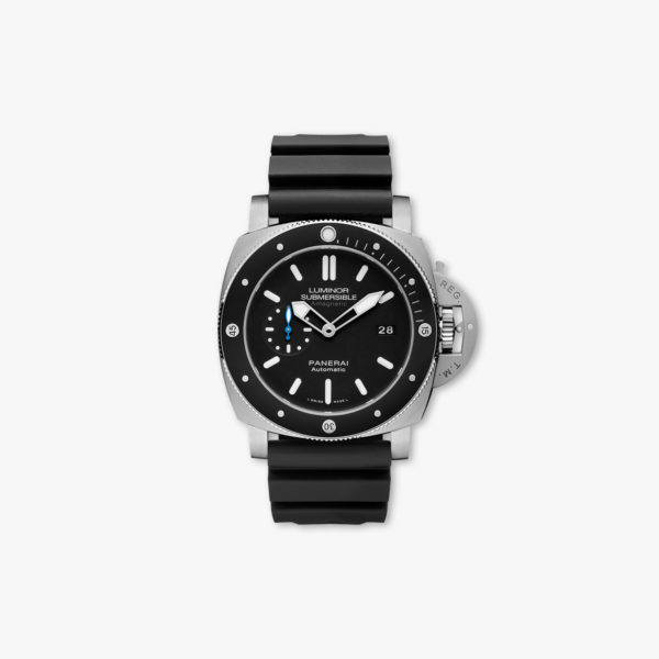 Luminor Submersible Amagnetic 3 Days Automatic Titanio - 47mm in titanium