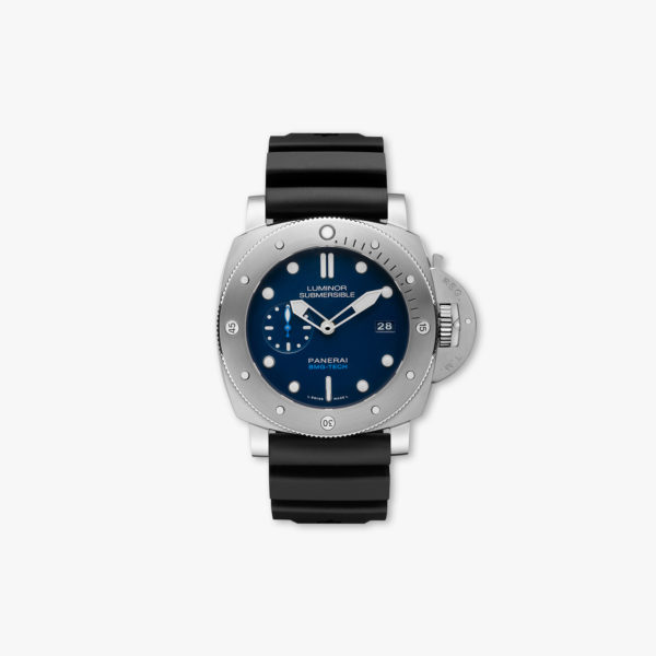 Montre Panerai Luminor Submersible 1950 Bmg Tech 3 Days Automatich 47Mm Pam00692 Bleu Maison De Greef 1848