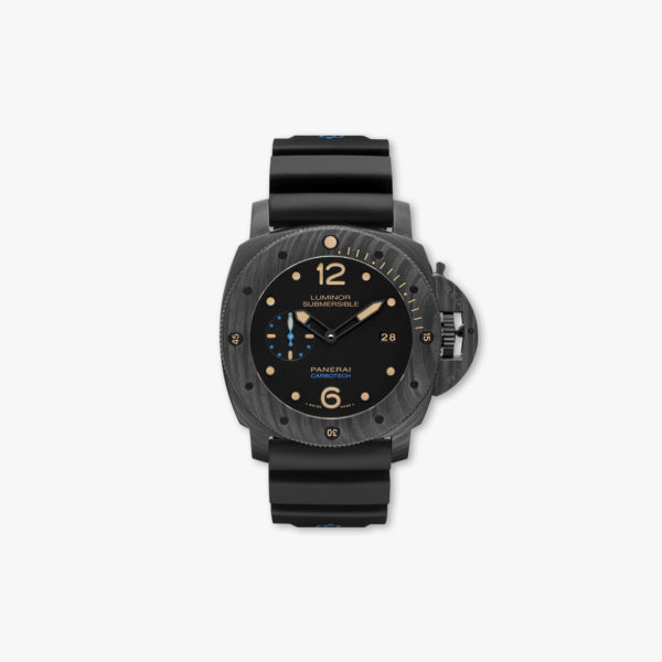 Montre Panerai Luminor Submersible 1950 Carbotech 3 Days Automatic 47Mm Pam00616 Black Maison De Greef 1848