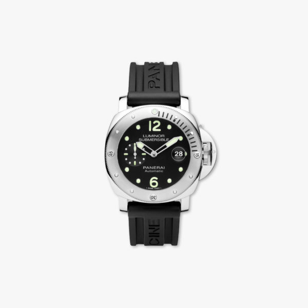 Montre Panerai Luminor Submersible Automatic Acciaio 44Mm Pam01024 Acier Noir Maison De Greef 1848