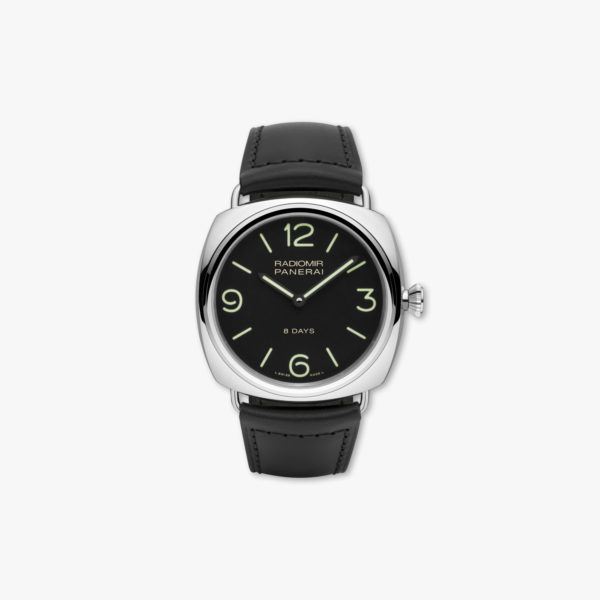 Montre Panerai Radiomir 8 Days Acciaio Pam00610 Acier Maison De Greef 1848