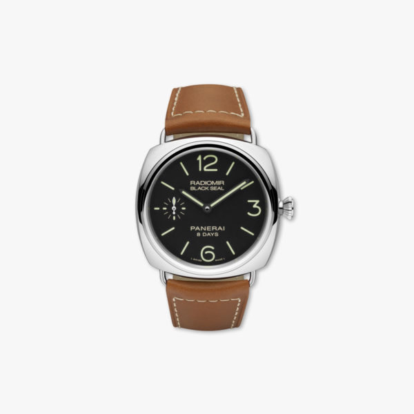 Radiomir Black Seal 8 Days Acciaio - 45mm in stainless steel