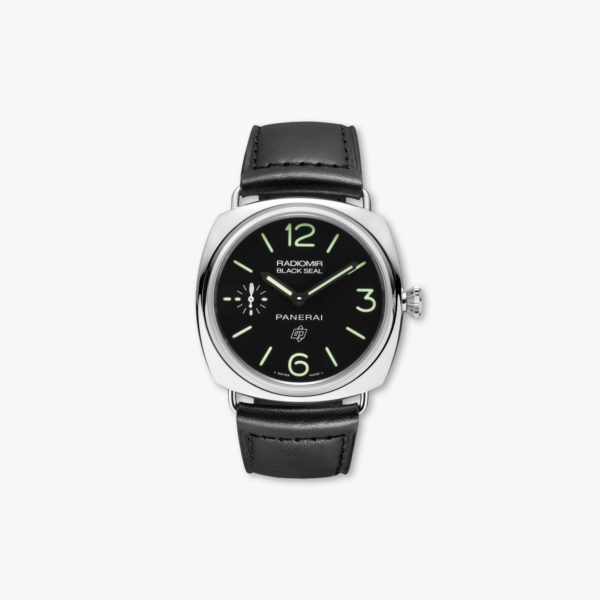 Montre Panerai Radiomir Black Seal 8 Days Acciaio 45Mm Pam00380 Acier Maison De Greef 1848