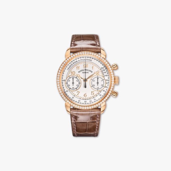 Montre Patek Philippe Complications Chronographe 7150 250 R 001 Or Rose Diamants Maison De Greef 1848