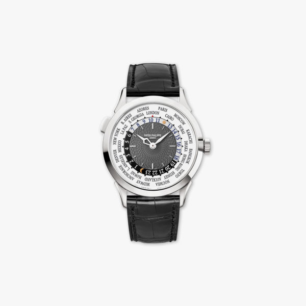 Complications World Time en or blanc