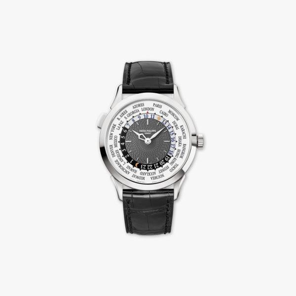 Montre Patek Philippe Complications World Time 5230 G 001 Or Blanc Maison De Greef 1848