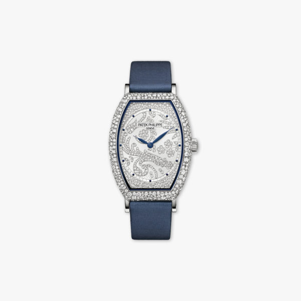Montre Patek Philippe Gondolo Haute Joaillerie 7099 G 001 Or Blanc Diamants Maison De Greef 1848