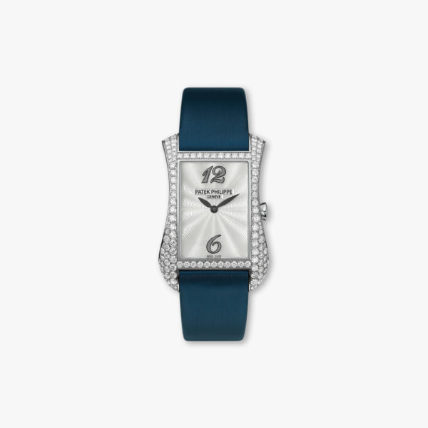 Montre Patek Philippe Gondolo Serata 4972 G 001 Or Blanc Diamants Nacre Maison De Greef 1848