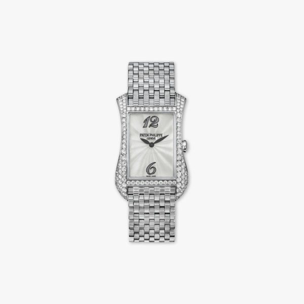 Montre Patek Philippe Gondolo Serata 4972 1 G 001 Or Blanc Diamants Maison De Greef 1848