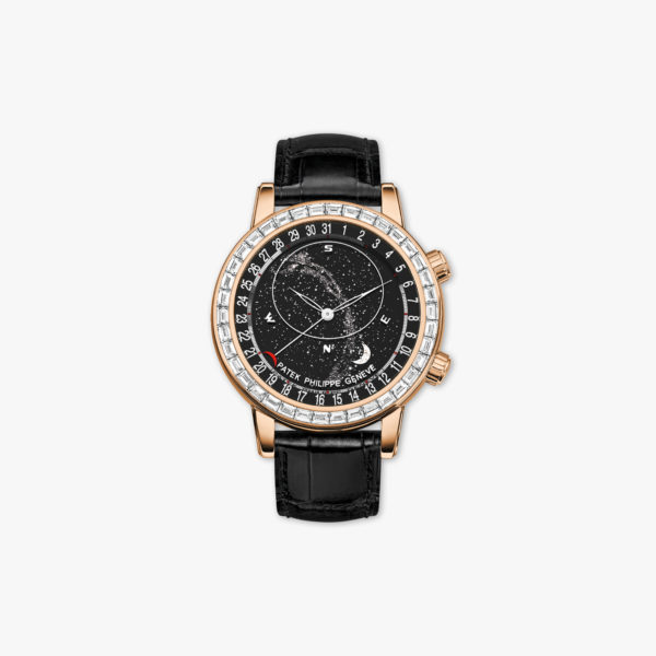 Grand Complications Celestial in rose gold, set with diamonds