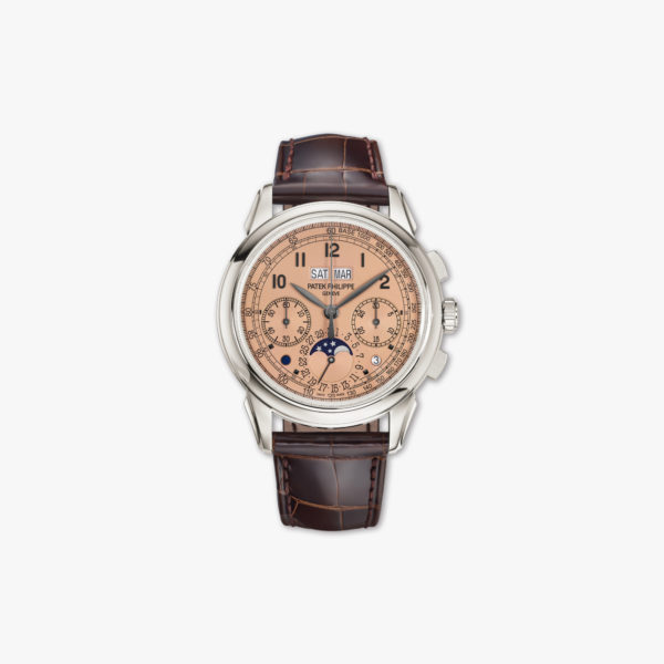 Montre Patek Philippe Grand Complications Chronographe Calendrier Perpetuel 5270 P 001 Platine Maison De Greef 1848