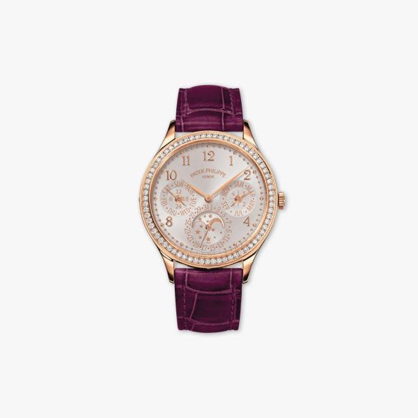 Grand Complications Ladies First Perpetual Calendar in rose gold, set with diamonds