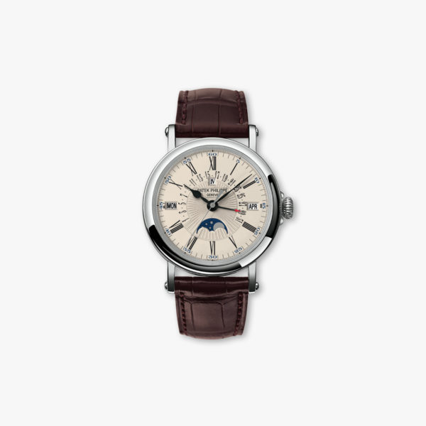 Grand Complications Perpetual Calendar en or blanc