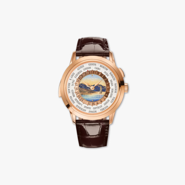 Montre Patek Philippe Grand Complications Repetition Minute Heure Universelle 5531 R 001 Or Rose Email Maison De Greef 1848