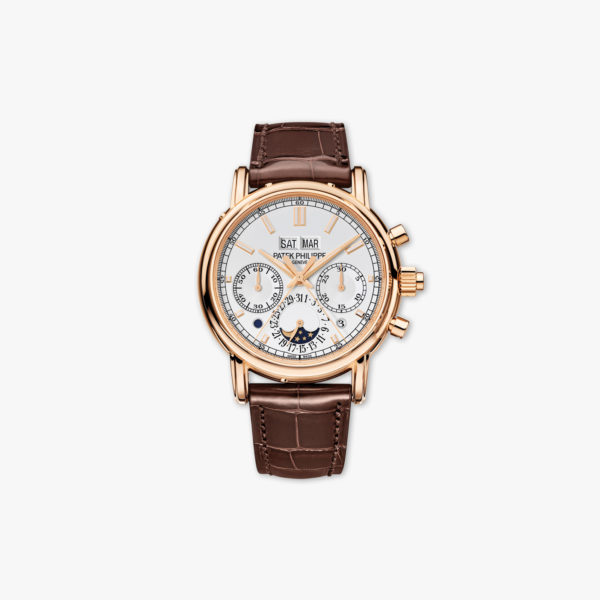 Montre Patek Philippe Grand Complications Split Seconds Chronograph 5204 R 001 Or Rose Maison De Greef 1848
