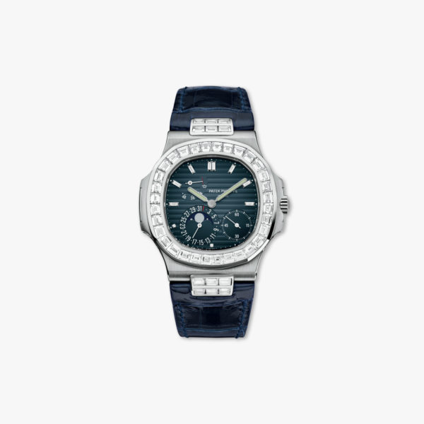 Montre Patek Philippe Nautilus 5724 G 001 Or Blanc Diamants Maison De Greef 1848