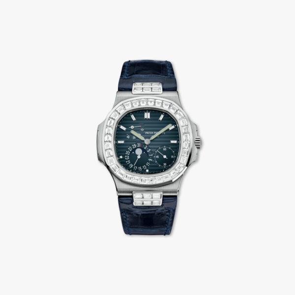 Montre Patek Philippe Nautilus 5724 G 001 Or Blanc Diamants Maison De Greef 1848