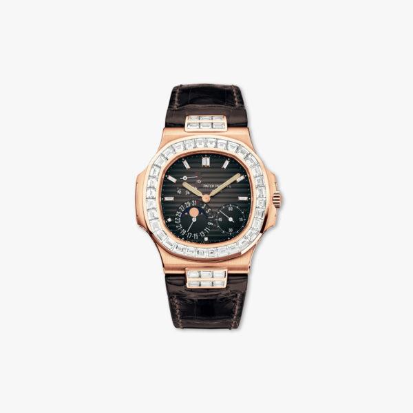 Montre Patek Philippe Nautilus 5724 R 001 Or Rose Diamants Maison De Greef 1848