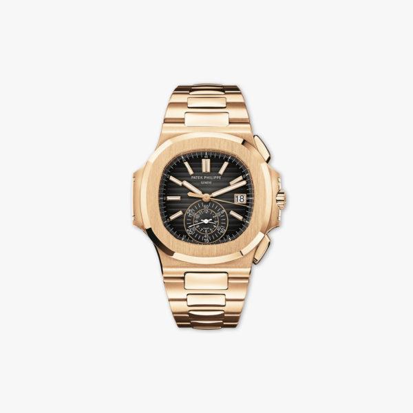 Montre Patek Philippe Nautilus Chronograph 5980 1 R 001 Or Rose Maison De Greef 1848