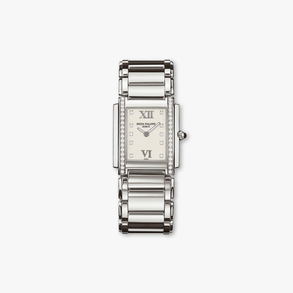 Montre Patek Philippe Twenty 4 4910 10 A 011 Acier Diamants Maison De Greef 1848