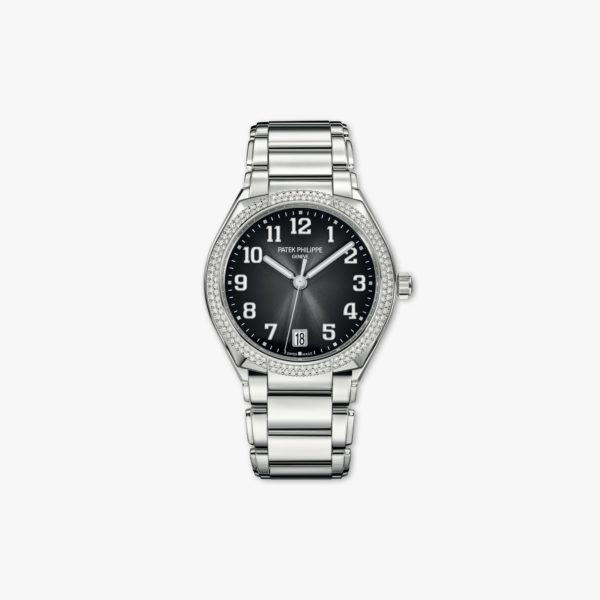 Montre Patek Philippe Twenty 4 7300 1200 A 010 Acier Diamants Gris Maison De Greef 1848