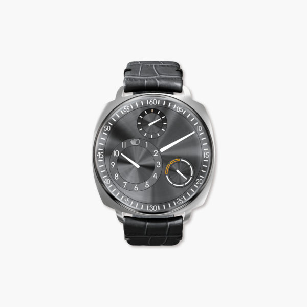 Montre Ressence Type 1 Squared Ruthenium  T1 2  R Steel Maison De Greef 1848