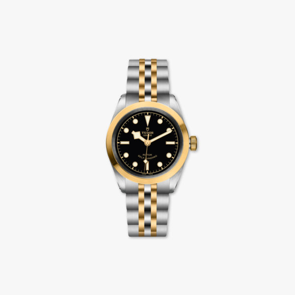 Montre Tudor Black Bay 32 Steel Gold M79583 0001 Noir Acier Or Jaune Maison De Greef 1848