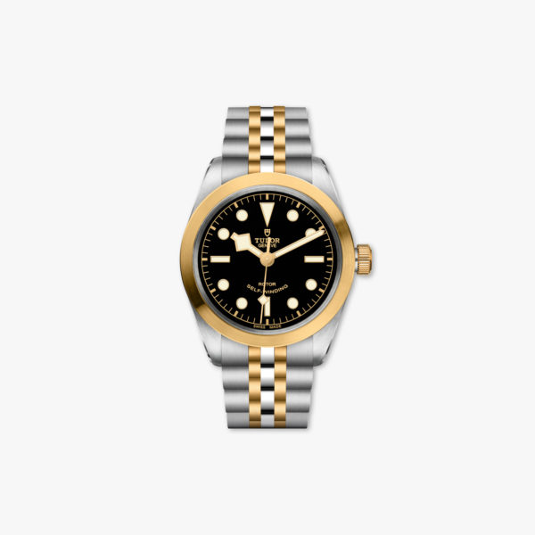 Montre Tudor Black Bay 36 Steel Gold M79503 0001 Noir Acier Or Jaune Maison De Greef 1848