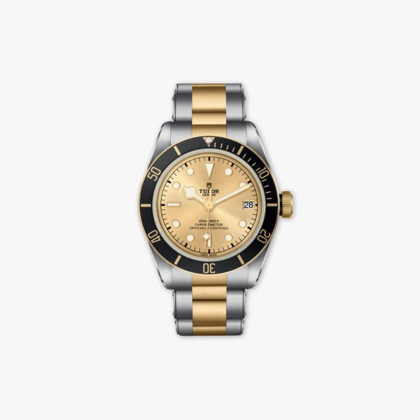 Montre Tudor Heritage Black Bay Steel Gold M79733 N 0004 Acier Or Jaune Maison De Greef 1848