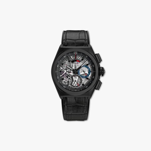 """Automatisch uurwerk Chronograaf """"El Primero 21"""" in gekeramiseerd aluminium"""