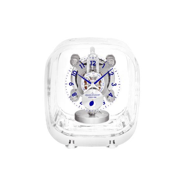 Pendule Jaeger Lecoultre Atmos 568 Marc Newson Cristal Baccarat Q5165107 Maison De Greef 1848