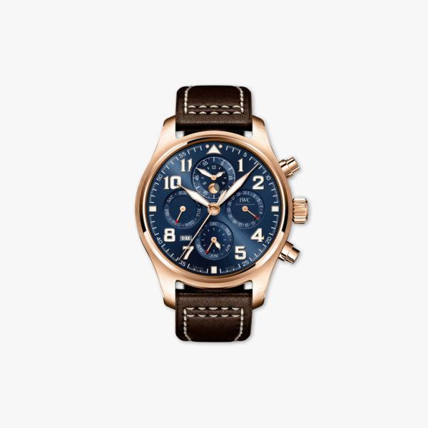 "Pilot's Watch Perpetual Calendar Chronograph Edition ""Le Petit Prince"" in roze goud"