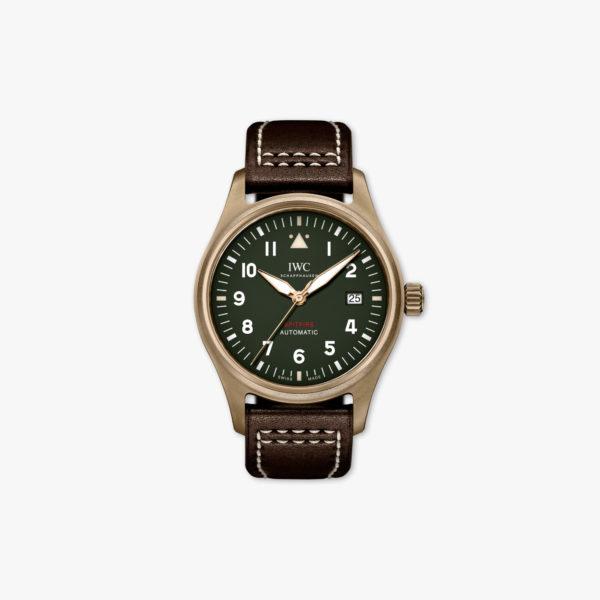Uurwerk Iwc Pilots Watches Spitfire Automatic Iw326802 Brons Groen Maison De Greef 1848