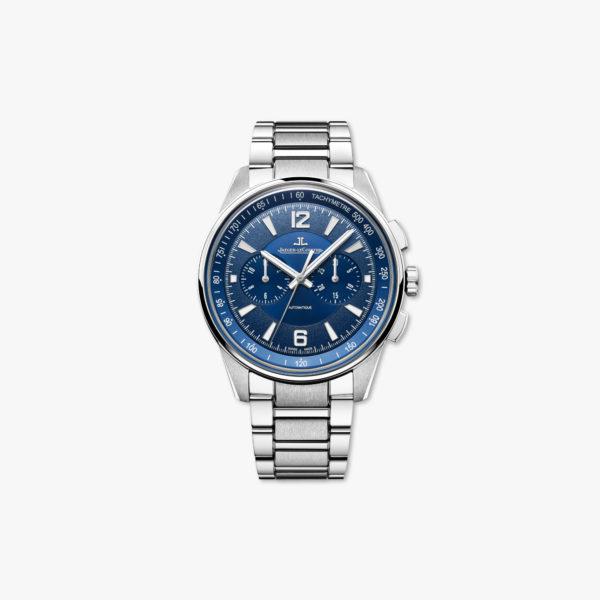 Uurwerk Jaeger Lecoultre Polaris Chronograph Q9028180 Staal Blauw Maison De Greef 1848