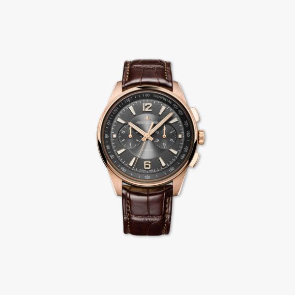 Uurwerk Jaeger Lecoultre Polaris Chronographe Q9022450 Goud Roze Maison De Greef 1848