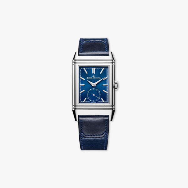 Uurwerk Jaeger Lecoultre Reverso Tribute Small Second Q3978480 Staal Blauw Maison De Greef 1848