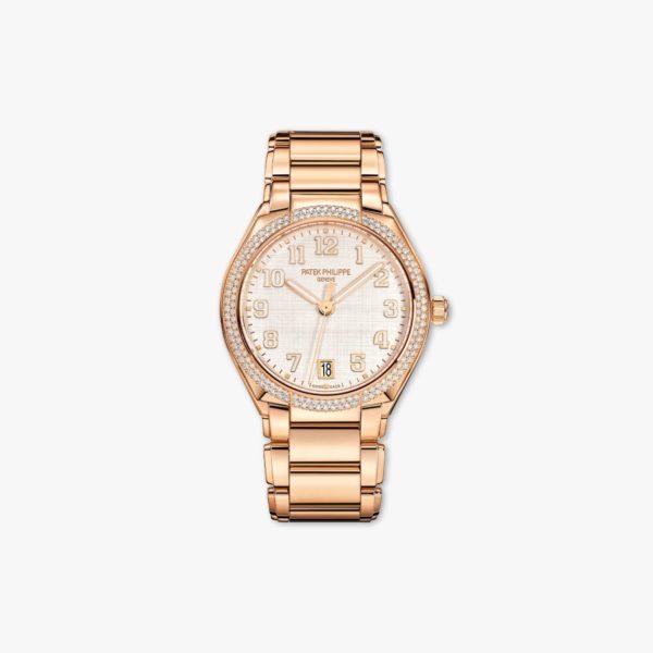 Twenty-4 in roze goud gezet met diamanten