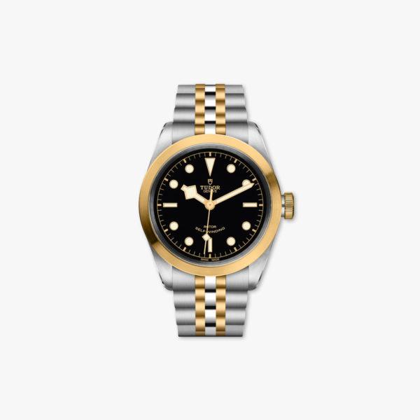 Uurwerk Tudor Black Bay 41 Steel Gold M79543 0001 Zwart Staal Geel Goud Maison De Greef 1848