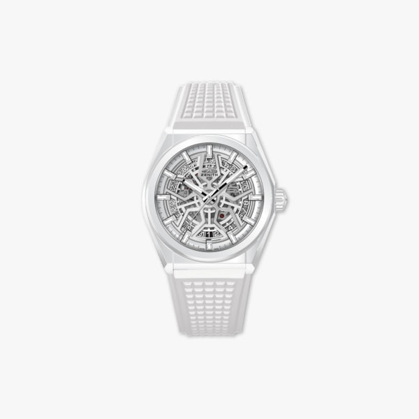 Watch Zenith Defy Classic 49 9002 670 01 R792 Ceramic White Rubber Maison De Greef 1848
