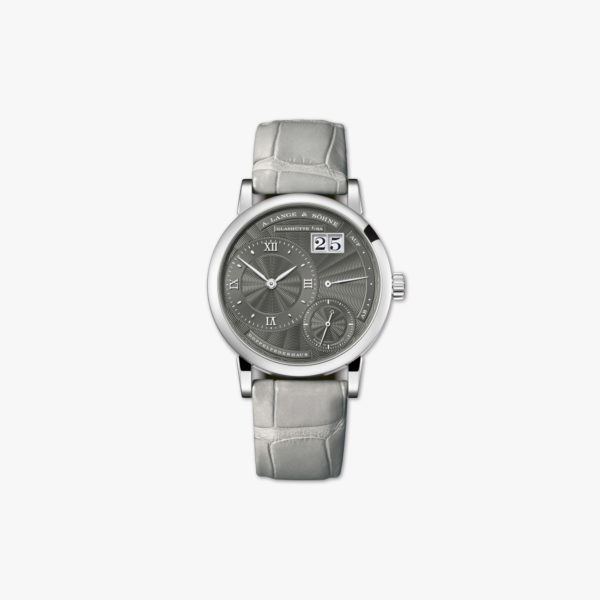 Watch A Lange Sohne Little Lange 1 181 038 White Gold Grey Maison De Greef 1848