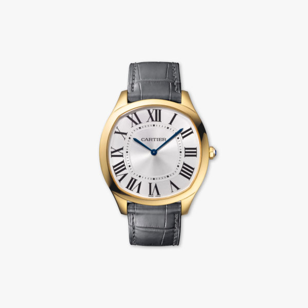 Watch Cartier Drive De Cartier Extra Flat Wgnm0011 Yellow Gold Maison De Greef 1848