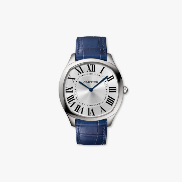 Drive de Cartier Extra-Flat in stainless steel