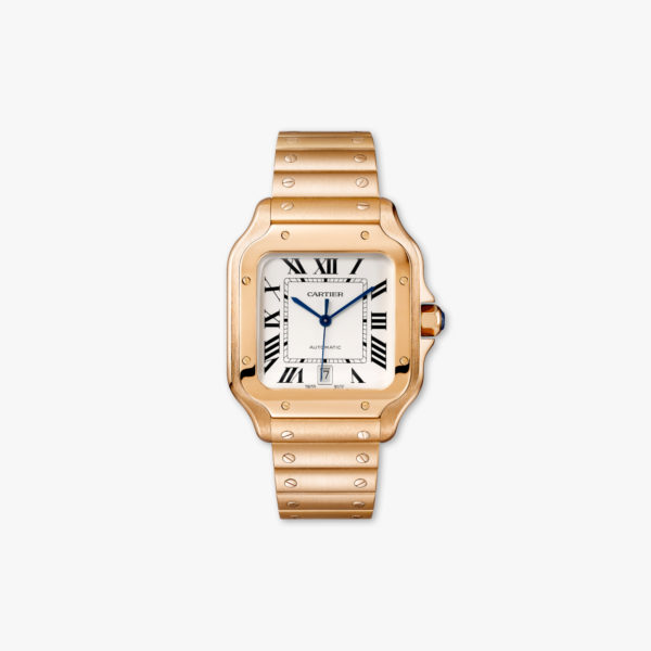 Watch Cartier Santos De Cartier Large Model Wgsa0007 Rose Gold Maison De Greef 1848