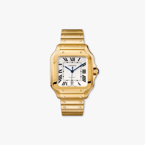 Watch Cartier Santos De Cartier Large Model Wgsa0009 Yellow Gold Maison De Greef 1848