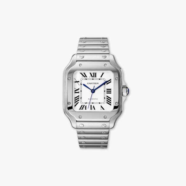 Watch Cartier Santos De Cartier Medium Model Wssa0010 Steel Maison De Greef 1848
